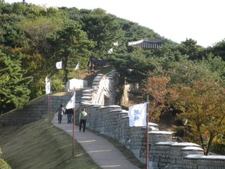 022 Beauty of the Wall in Fall, Hwaseong, Suwon