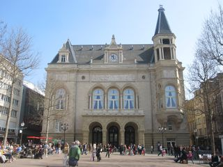 274 Place Guillaume II and City Hall, One Day in Luxembourg City, Luxembourg