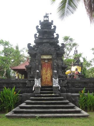 106  Balinese Temple, Kuta, South Bali, Indonesia